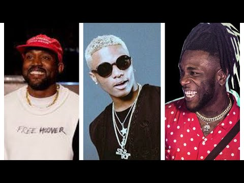 Kanye West goes crazy after hearing Wizkid & Burna Boy.