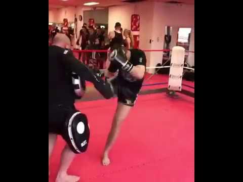 Jaraya entraînement kickboxing