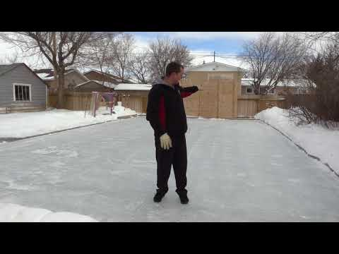 Building A Backyard Ice Hockey Rink