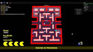 Roblox how to win Pac Blox/Pac man