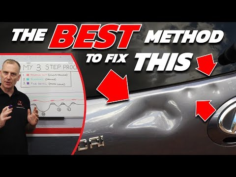 FIXED In 3 STEPS! | NO Paint NO Filler!