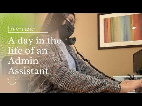Day in the life of an Admin Assistant in California | That's So KT