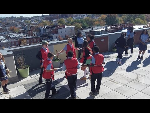 Patterson Park Public Charter School Acts Out Mitosis!
