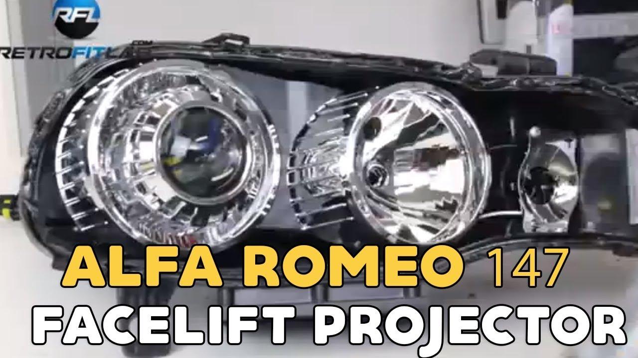 Wonderbaar Alfa Romeo 147 facelift projector installation - YouTube UX-91