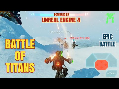 [B.o.T] Battle Of Titans Android Gameplay + Link Download
