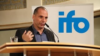 """Münchner Seminar mit Yanis Varoufakis """"The Situation in Greece and the Future of Europe"""""""