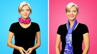 30 EASY WAYS TO TIE YOUR SCARF