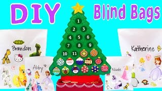 How To Make Toy Blind Bags At Home! Disney Princess Hello Kitty MLP Sofia The First