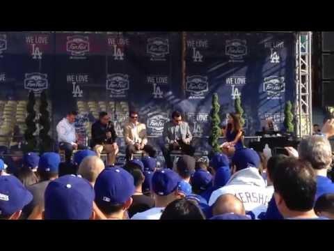 Dodgers FanFest 2015 Inside Dodger Stadium. Los Angeles, CA. January 31, 2015.