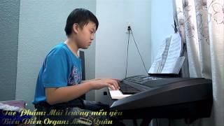 Mái trường mến yêu - Organ