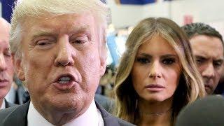Melania Trump Appears To Really Dislike Her Husband