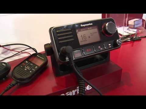 2014 Fort Lauderdale Boat Show: Raymarine SideVision, Cam200 and VHF Radios