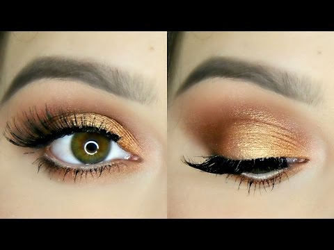 Bronze Copper Eye Makeup Tutorial