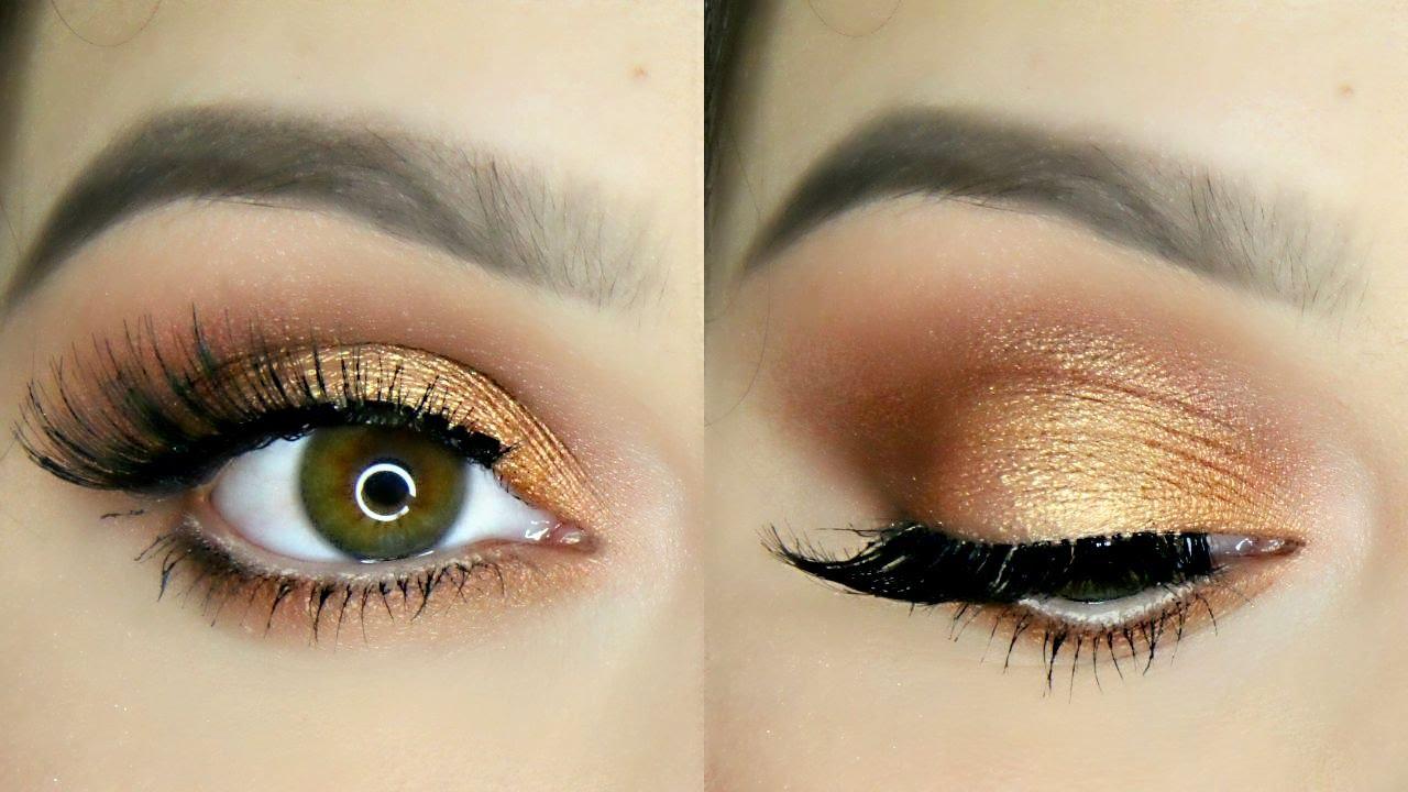 Bronze Copper Eye Makeup Tutorial Youtube
