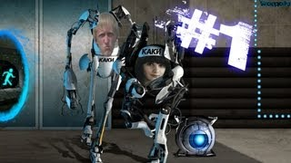 Portal 2 Кирилл + Катя ( Каки )