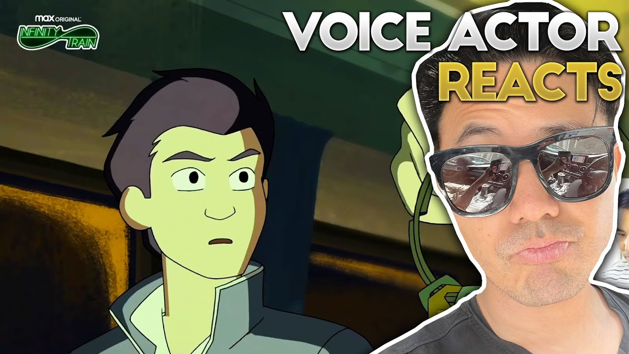I'M IN A CARTOON!!!! Infinity Train Book Four Min-Gi Voice Actor Johnny Young Reacts to Sneak Peak