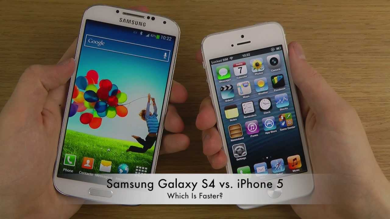 Iphone 5 Vs Samsung Galaxy S4 Active