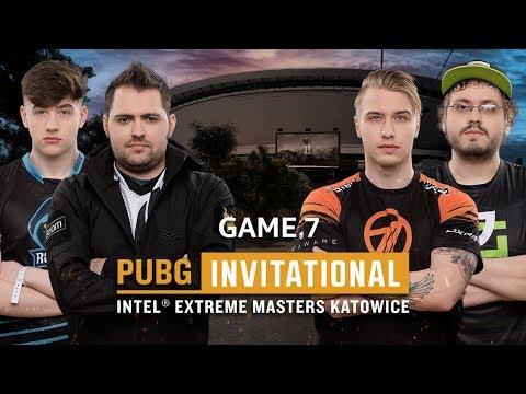 IEM PUBG Invitational Katowice 2018 Game 7