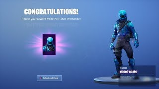 How to Get HONOR GUARD Skin For FREE In FORTNITE! FREE HONOR GUARD SKIN METHOD! Free Skin Codes!