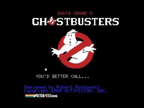 Gioco per MSX - Ghostbusters 1984 - Intro - www.glianni80.it