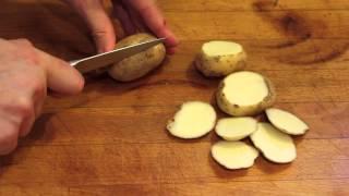 Pommes de terres rôties au barbecue