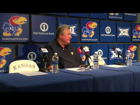 Bob Huggins discusses free throw disparity in loss to KU