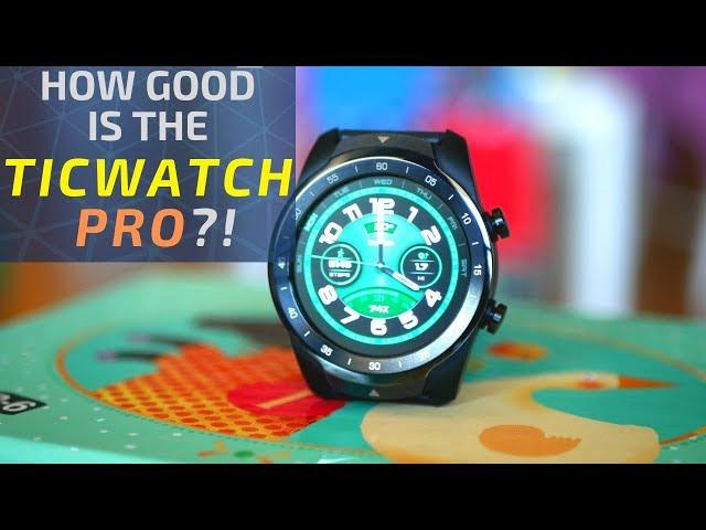 TicWatch Pro & Wear OS 2.0: Is it better than Amazfit Stratos or Garmin Fenix 5x?