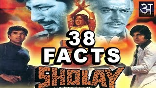 38 Amazing Facts about Sholay. 'शोले' के बारे में 38 आश्चर्यजनक तथ्य।