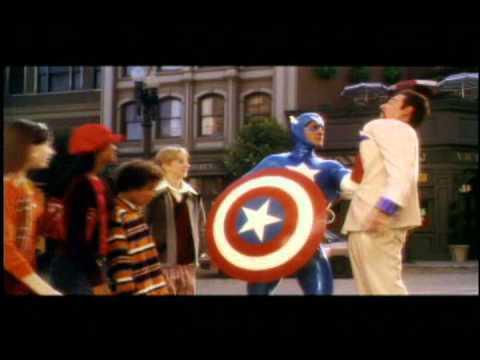 Naya Rivera (Captain America) Scene from Master of