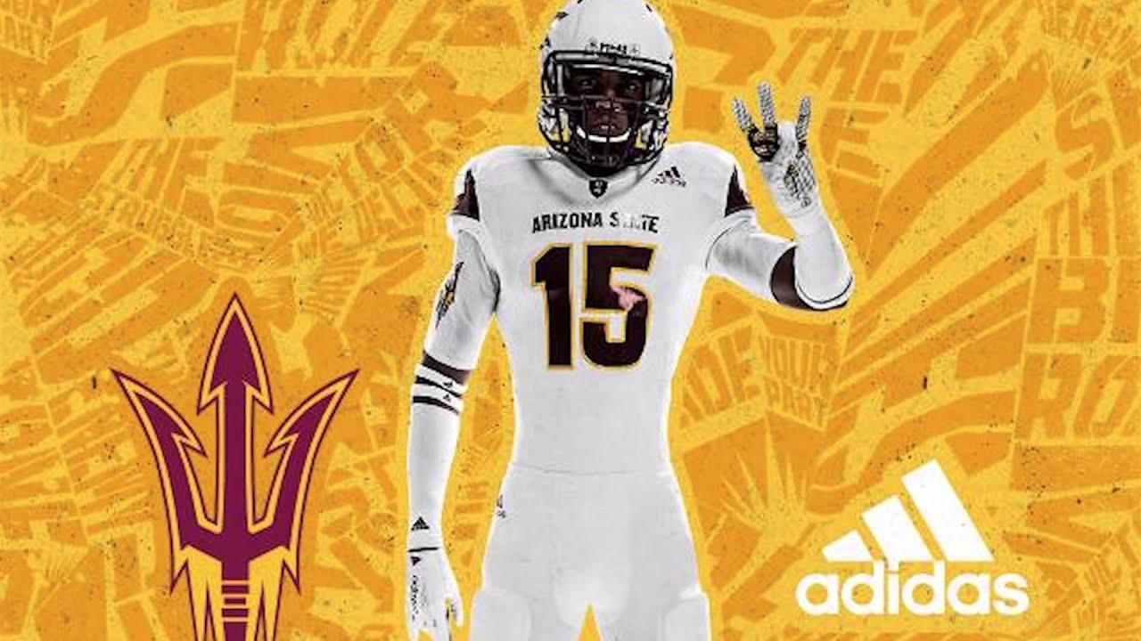 Arizona State Unveils New adidas Football Uniforms for 2015 Season ... db927c2ba