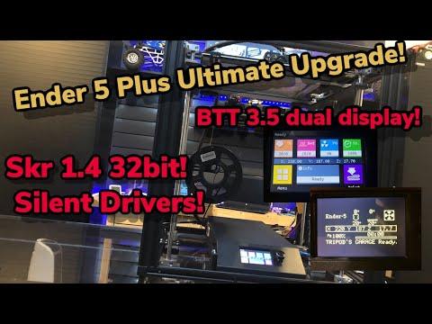 Ender 5 Plus Ultimate Upgrade!   BIGTREETECH 32bit 1.4 SKR TURBO & BIGTREETECH TFT35 V3.0