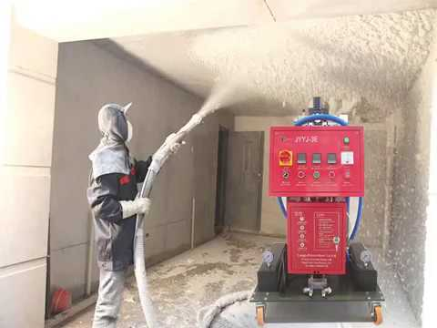 PU SPRAY MACHINE INSTALLATION PROCESS FOR JYYJ-3E TYPE