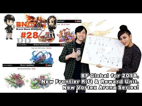 【ブレフロ】【BNC】BF Global for 2018, New Frontier Rift & Reward Unit, New Vortex Arena Series!【BNC】#28
