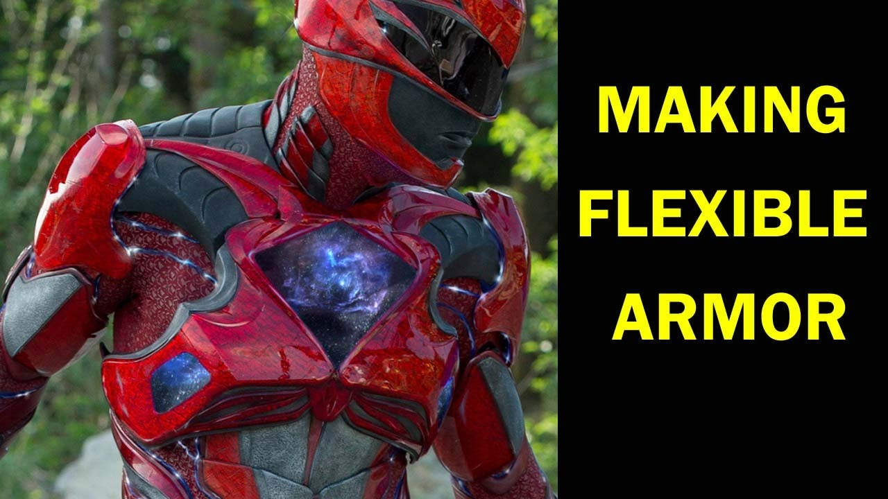 Power Rangers 2017 Suit Break Down - Learn How To Make Flexible and Mobile Costume Armor  sc 1 st  YouTube & Power Rangers 2017 Suit Break Down - Learn How To Make Flexible and ...