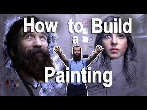 How to Build a Painting (A New Series). Cesar Santos vlog 04