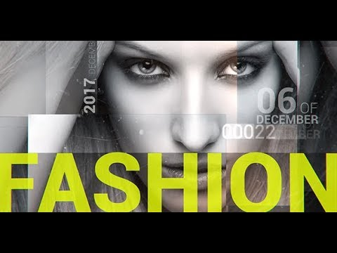Fashion After Effects Template for promo/slideshow/opener & intro