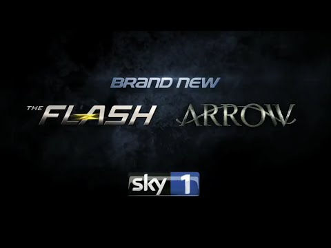 Arrow and The Flash  October 2015 Sky 1
