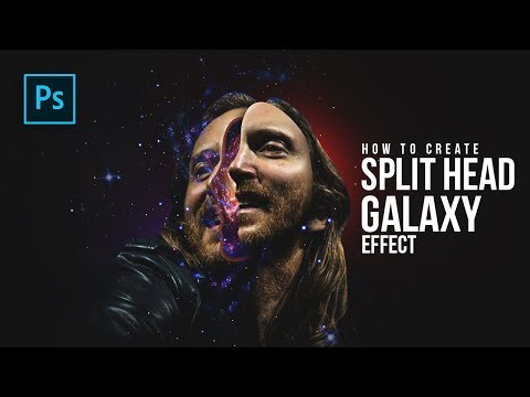 How to Create Split Head Galaxy Manipulation in Photoshop - Photoshop Tutorials