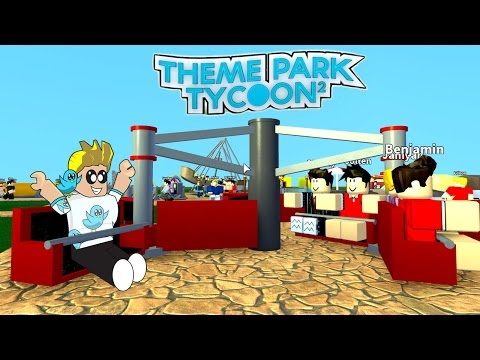 Roblox / Theme Park Tycoon 2 / Getting Started Again! / Gamer Chad Plays