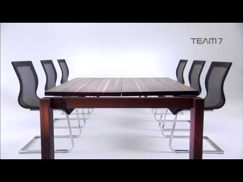 team 7 magnum tafel bij noordkaap meubelen youtube. Black Bedroom Furniture Sets. Home Design Ideas
