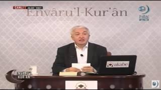 Ders 53: Kâri'a Sûresi  Envâru'l-kur'ân  - Prof.dr. Mehmet Okuyan