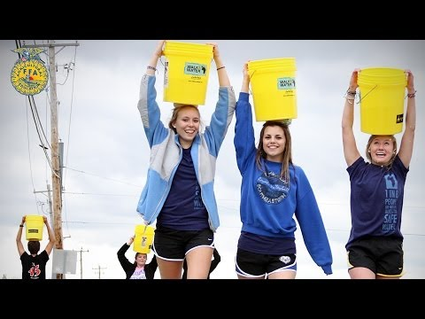 Living To Serve: HSE FFA Walk For Water