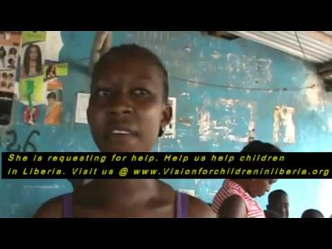 LIFE AFTER EBOLA CRISIS PROJECT IN LIBERIA, WEST AFRICA.