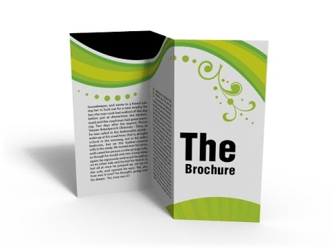 How to make a Brochure using word ? - YouTube