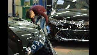 Сколы на Toyota, Исправил полировкой и маскировкой. 120 т.пробег😱