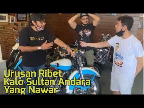 Damn!!! Harley Davidson Classic Ferry Jatuh Ketangan Raffi Ahmad?!