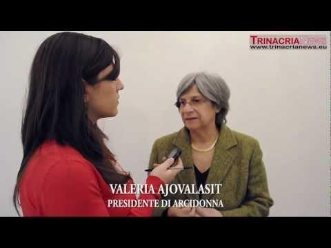 Valeria Ajovalasit (videointervista)