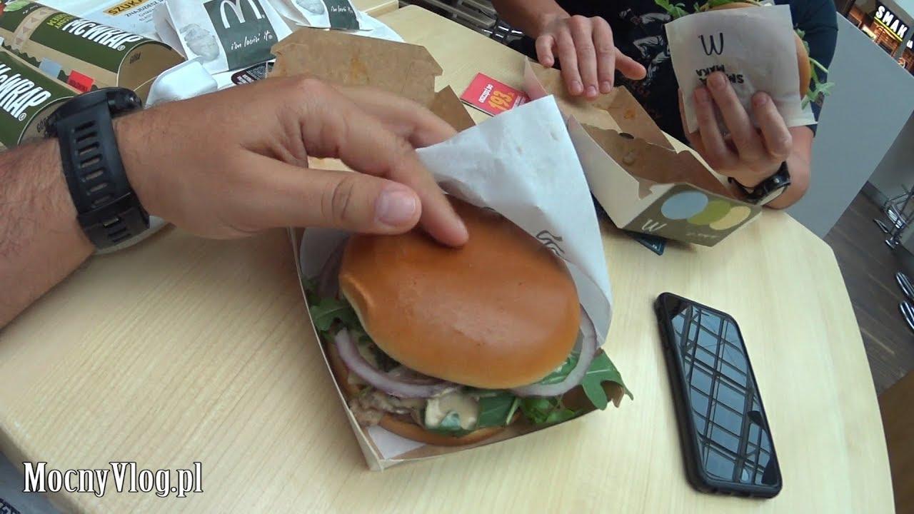 McDonald's i Burger Grzybowy
