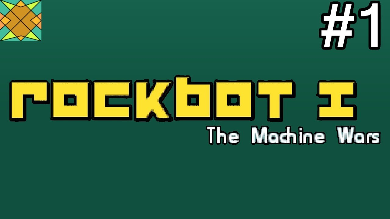 Let's Play Rockbot – #1: Walk in the Metallic Park (LIVE)