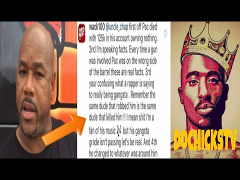 Wack100 Disrespects 2pac's Legacy To The Fullest | DocHicksTv
